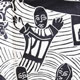 Detail from hunger cloth by Azariah Mbatha
