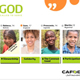 CAFOD GCSE RE and People of God video wall on CST principles